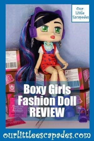 Boxy Girls Fashion Doll REVIEW