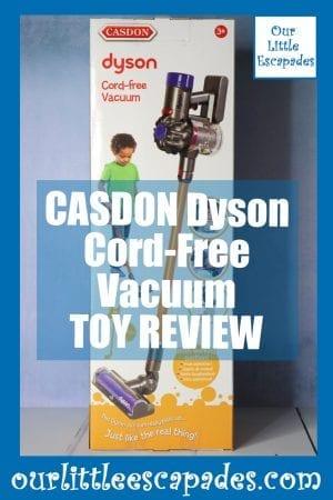 CASDON Dyson Cord Free Vacuum TOY REVIEW