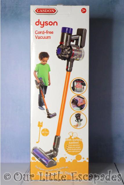 CASDON dyson cord free vacuum boxed