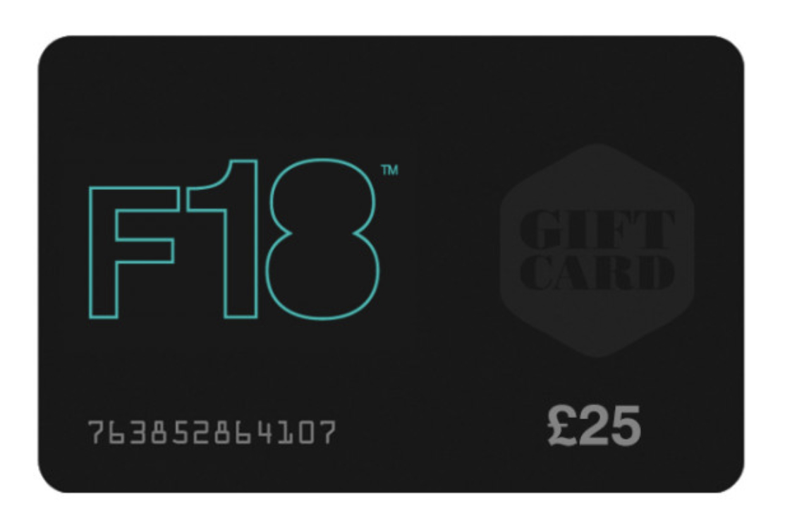 F18 gift cards