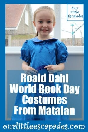 Roald Dahl World Book Day Costumes From Matalan