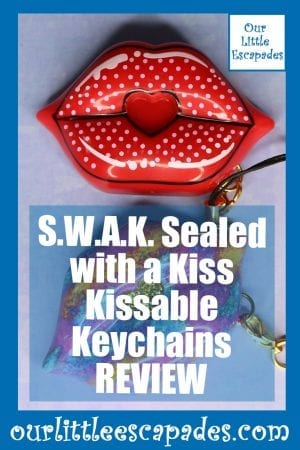 SWAK Sealed with a Kiss Kissable Keychains REVIEW