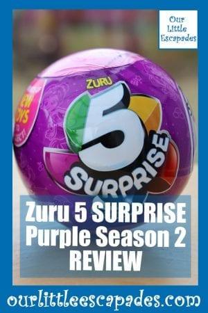 Zuru 5 SURPRISE Purple Season 2 REVIEW