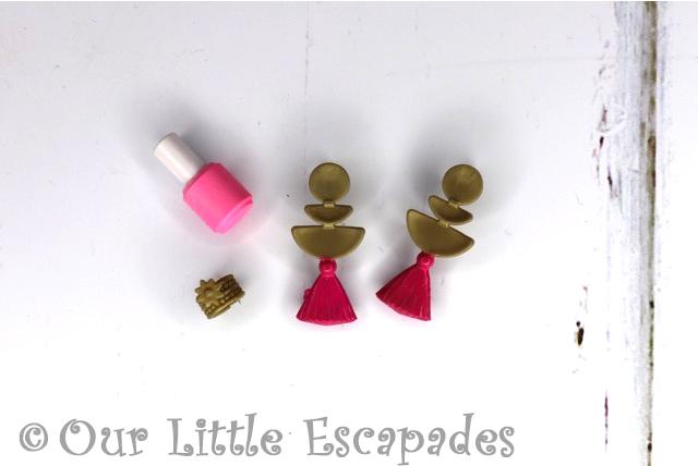 boxy girls fashion pack earrings bracelet nail varnish
