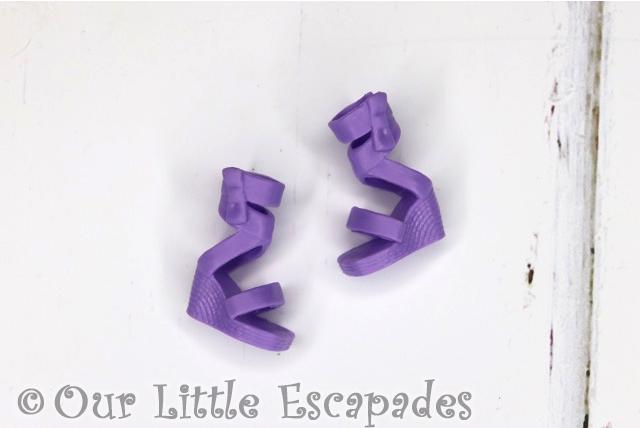 boxy girls fashion pack purple shoes