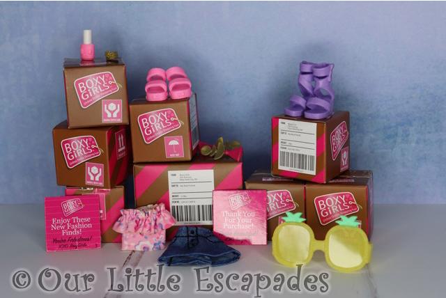boxy girls fashion pack unboxed