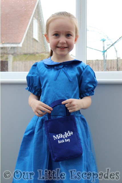 matilda book bag roald dahl world book day costume