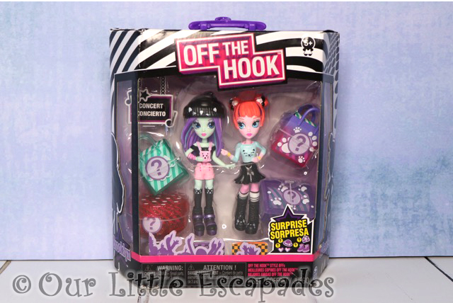 off the hook style bffs brooklyn alexis concert collection boxed