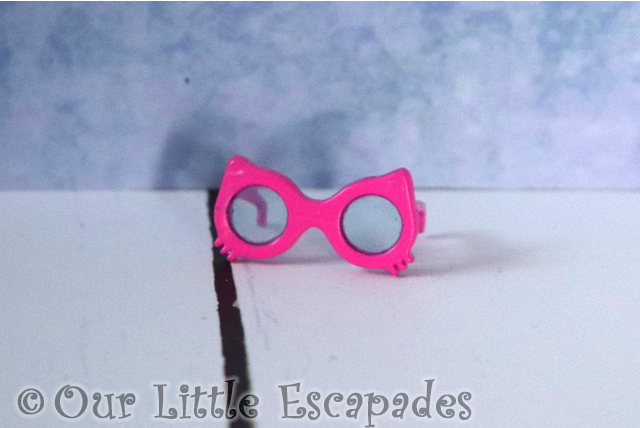 off the hook style dolls pink cat sunglasses