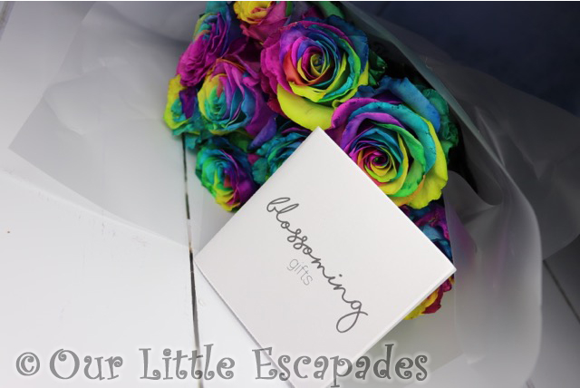 rainbow roses blossoming gifts Mothers Day Gift Ideas
