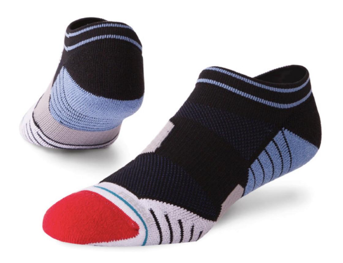 stance tend low golf socks