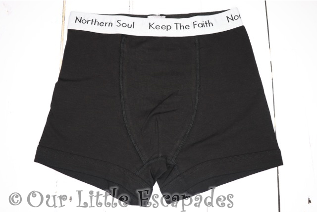 valentines day gift ideas 45REVS mens northern soul boxer shorts