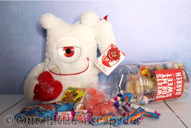 valentines day gift ideas sweets for my sweet jar love monster contents
