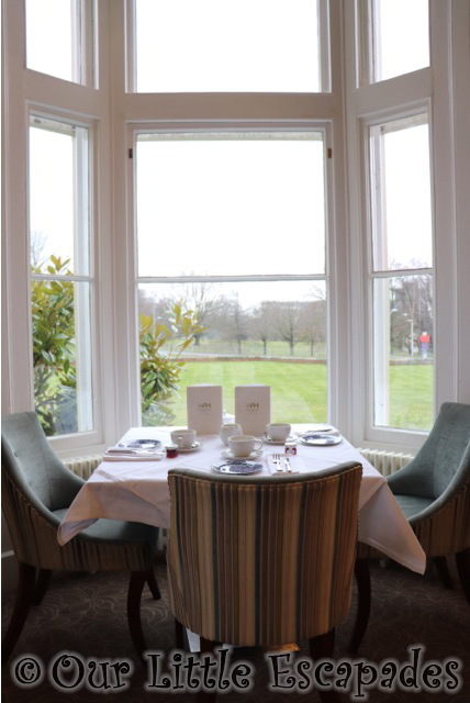 wivenhoe house afternoon tea lounge window