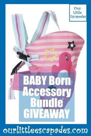 BABY Born Accessory Bundle GIVEAWAY