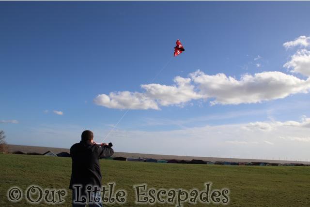 kitedrone fusionwing kite flying darren