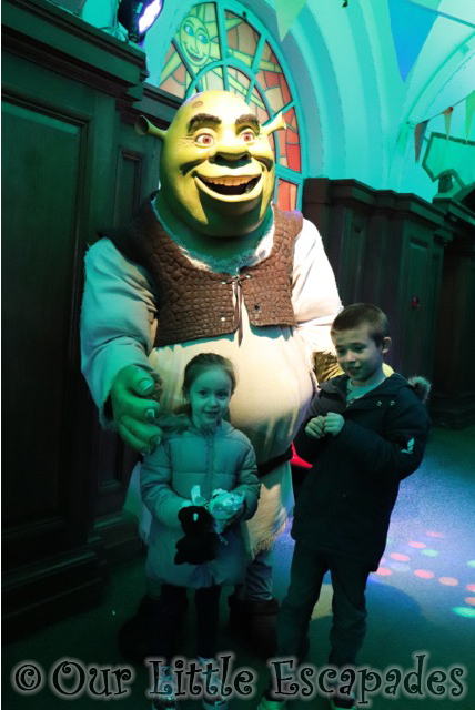 shreks adventure london meeting shrek