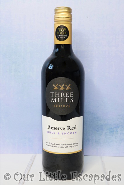 three mills reserve red wine