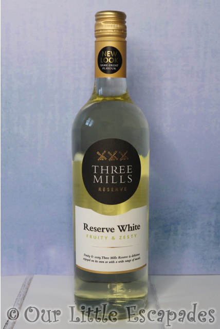 three mills reserve white wine