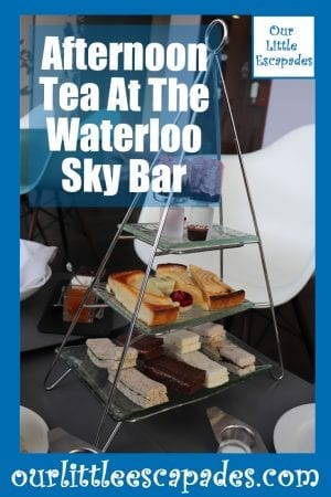 Afternoon Tea At The Waterloo Sky Bar