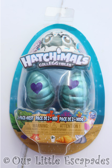 HATCHIMALS colleggtibles mermal magic 2 pack