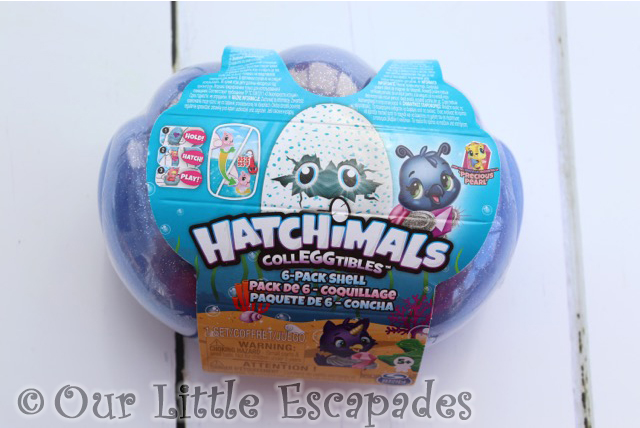 HATCHIMALS colleggtibles mermal magic 6 pack sea shell