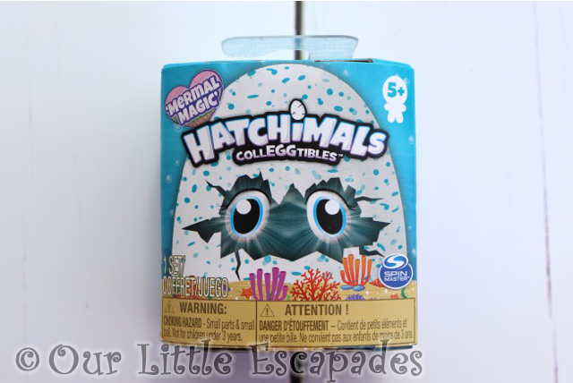 HATCHIMALS colleggtibles mermal magic single pack