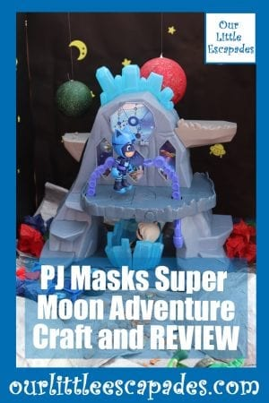 PJ Masks Super Moon Adventure Craft and REVIEW