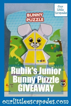 Rubiks Junior Bunny Puzzle GIVEAWAY