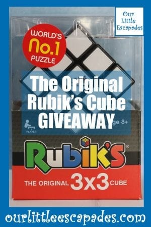 The Original Rubiks Cube GIVEAWAY
