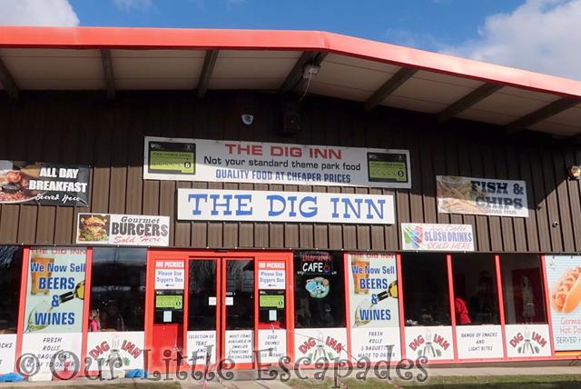 the dig inn diggerland kent