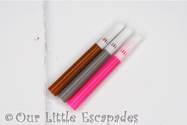 fuzzikins washable felt tip pens