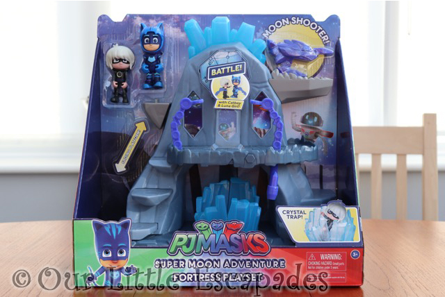 pj masks super moon adventure luna fortress playset