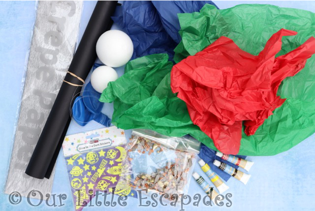 pj masks super moon adventure supplied craft items