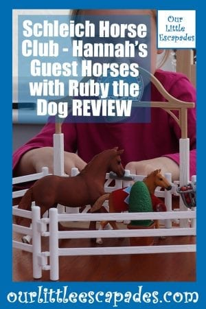 schleich horse club hannahs guest horses ruby dog REVIEW