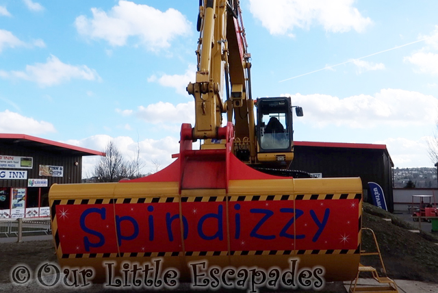 spindizzy diggerland kent