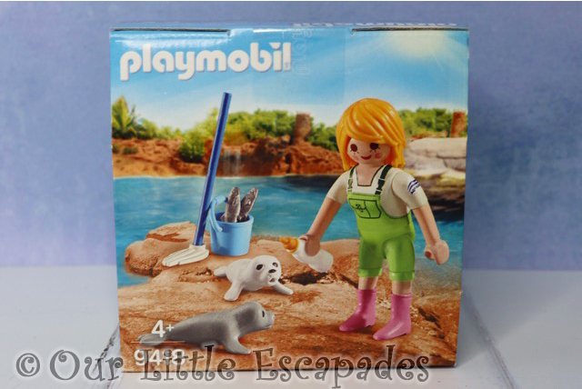 zookeeper seal pups playmobil 9418