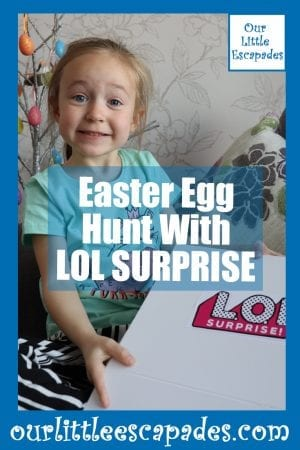 Easter Egg Hunt With LOL SURPRISE