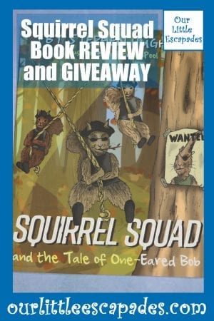 Squirrel Squad Book REVIEW and GIVEAWAY