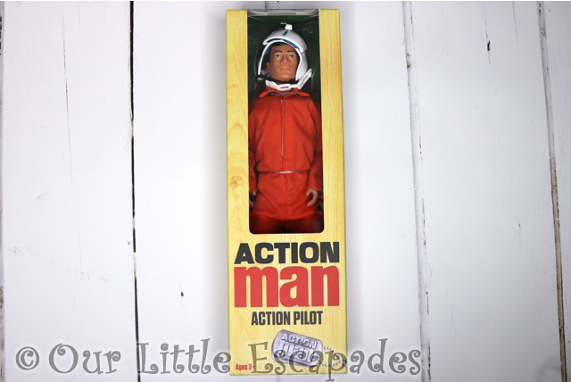 action man timeless classic range action pilot