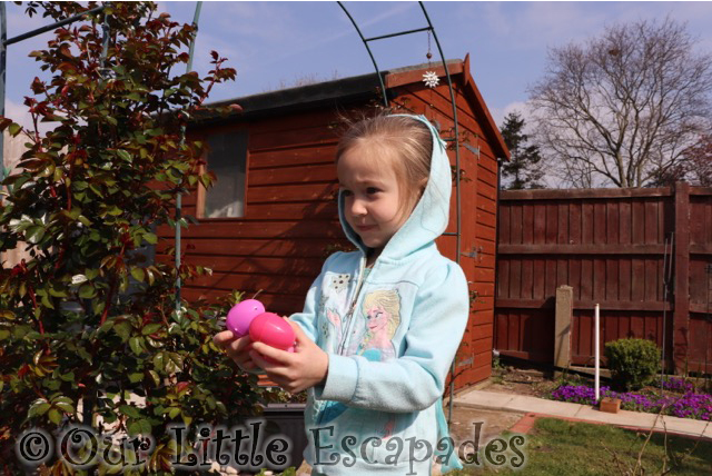 easter egg hunt little e