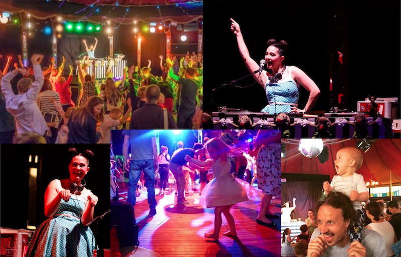 monski mouses baby disco dance hall