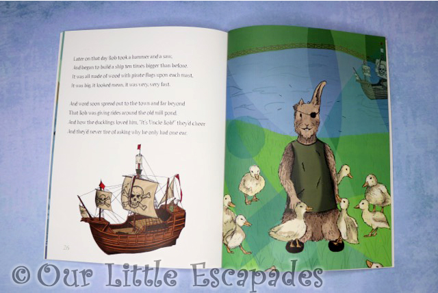 squirrel squadand tale one eared bob pirate ship