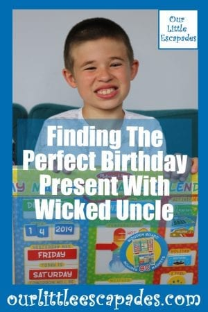 Finding The Perfect Birthday Present With Wicked Uncle
