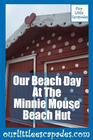 Our Beach Day At The Minnie Mouse Beach Hut