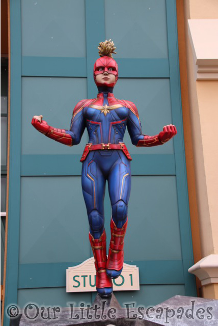 captain marvel marvel season super heroes walt disney studios park