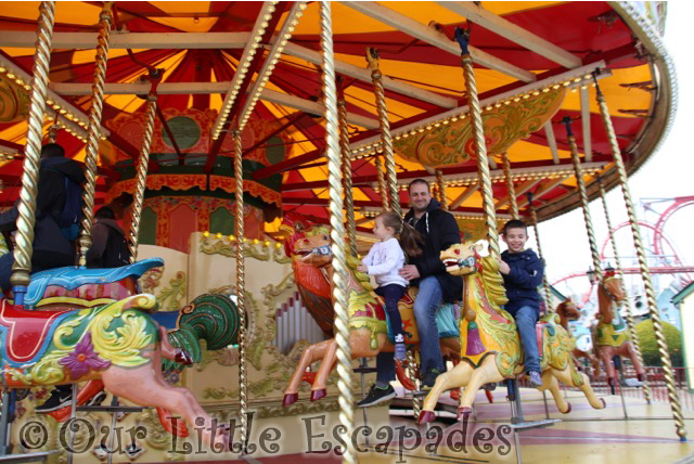 carousel drayton manor