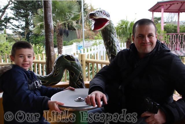ethan darren anaconda rainforest carousel drusillas park
