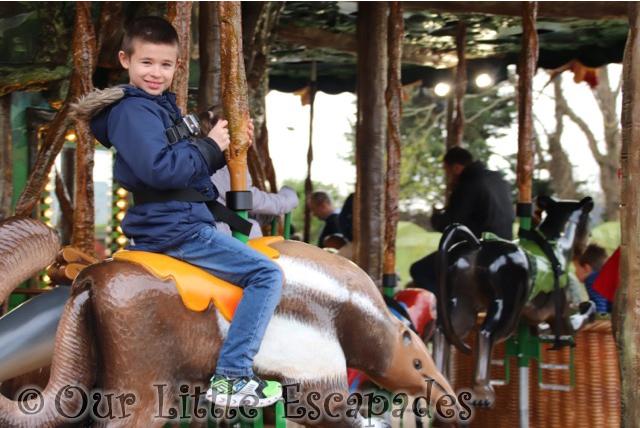 The Rainforest Carousel At Drusillas Park