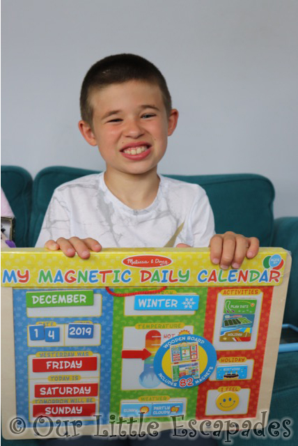 ethan magnetic daily calendar